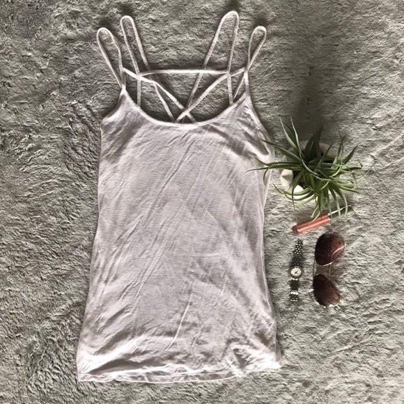 American Eagle Outfitters Tops - AE Soft & Sexy Strappy Tank Top